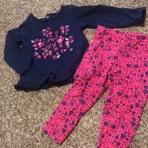 Carters brand 2 piece outfit